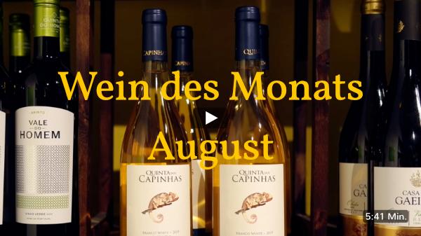 Wein des Monats August